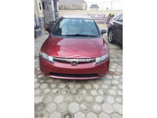 2008 Honda Civic Red