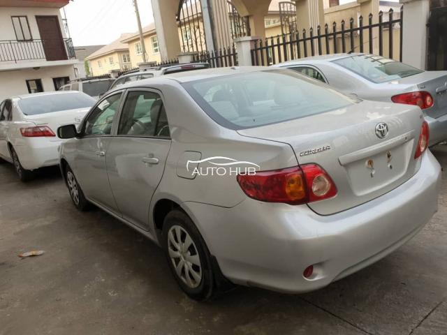 2008 Toyota Corolla Silver