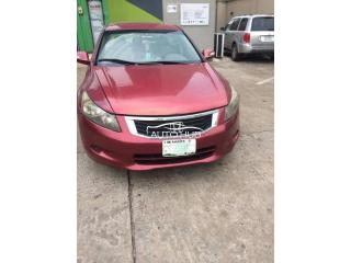 2010 Honda Accord Red