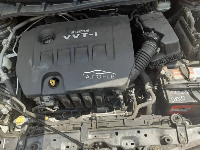 2010 Toyota Corolla White