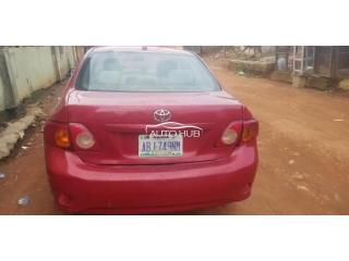 2009 Toyota Corolla Red