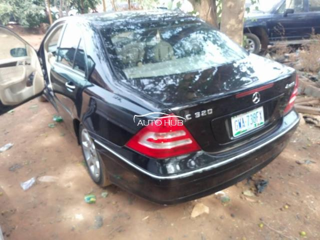 2004 Mercedes Benz C320 Black
