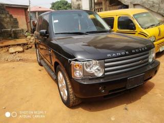 2005 Range Rover Evoque Black
