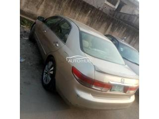 2003 Honda Accord Gold