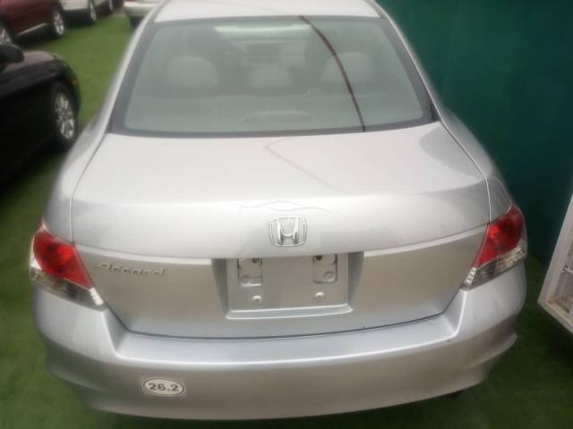 2008 Honda Accord Silver