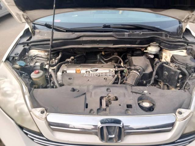 2007 Honda CRV White