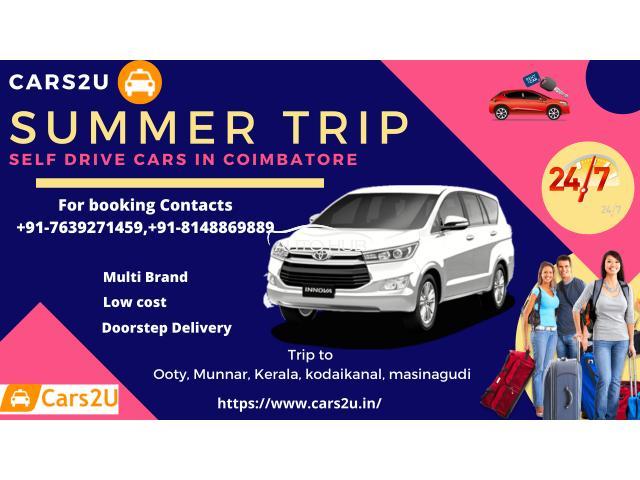 Self drive cars in Coimbatore