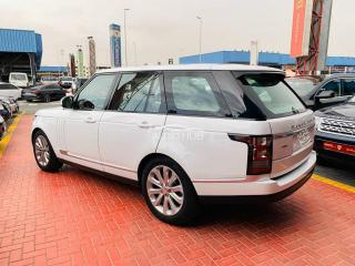 2015 Range Rover Vogue White