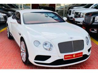 2016 Bentley GT White