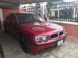 2006 BMW 760 LI Red