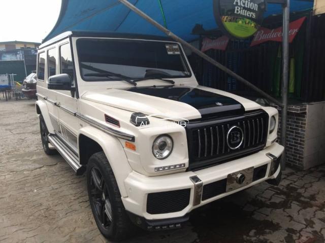 2004 Mercedes Benz G 63 White