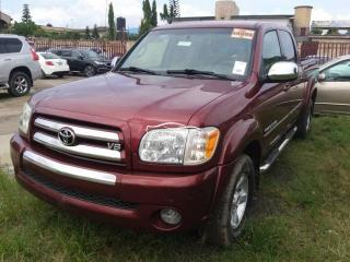 2007 Toyota Tundra Red