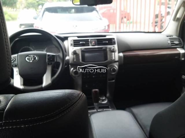 2014 Toyota 4 Runner Silver