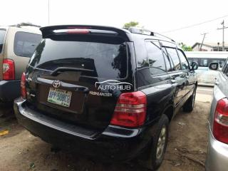 2004 Toyota Highlander Black