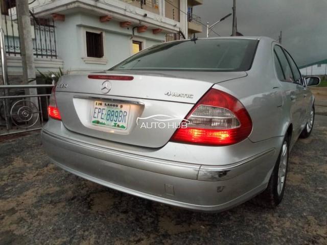 2005 Mercedes Benz E320 Silver