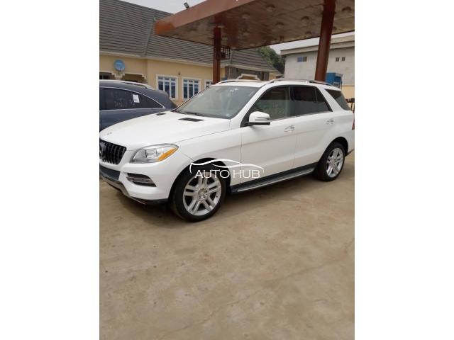 2014 Mercedes Benz ML350 White