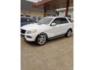 2014 Mercedes Benz ML350 White