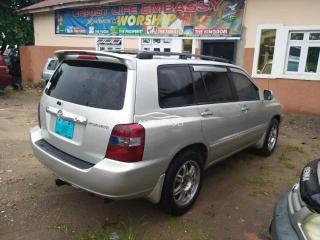 2004 Toyota Highlander Silver