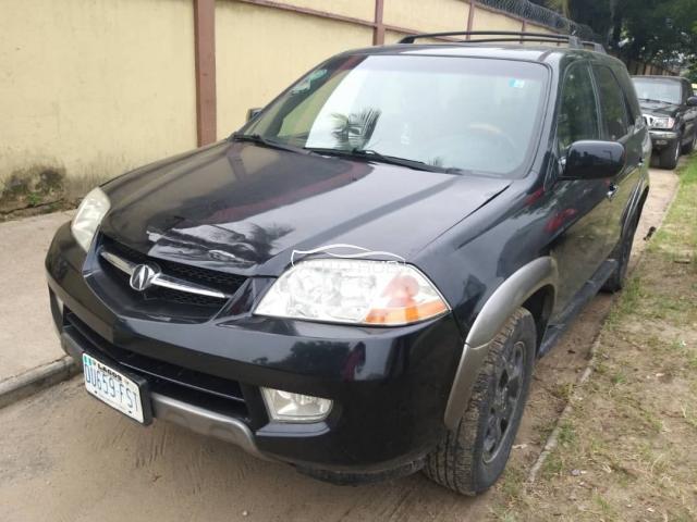 2005 Acura MDX Black