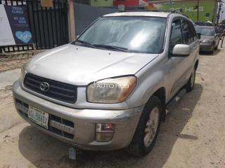 2003 Toyota Rav 4 Silver