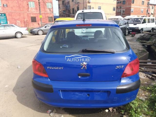 2004 Peugeot 307 Blue