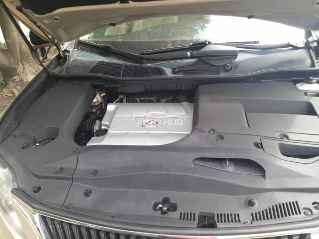 2011 Lexus RX 350 Gold