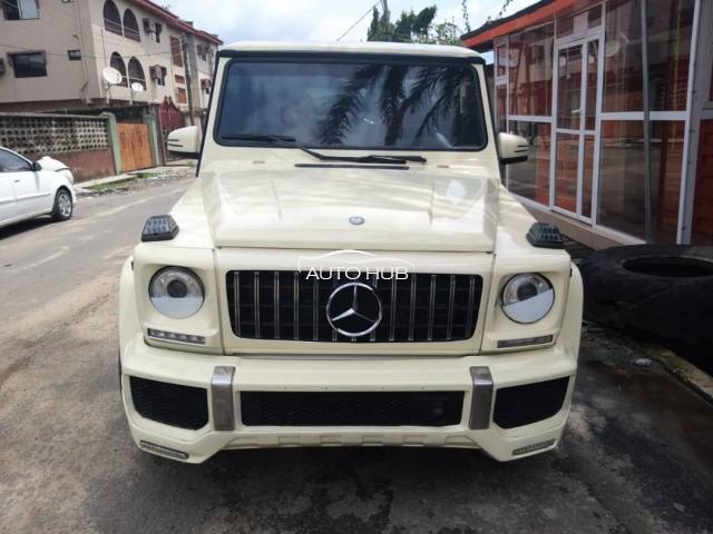 2004 Mercedes Benz G63 White