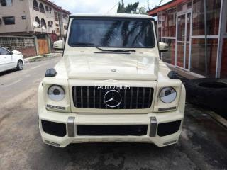 2004 Mercedes Benz G63 White