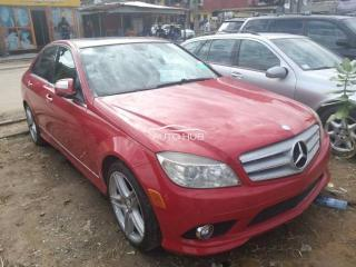 2008 Mercedes Benz C300 Red
