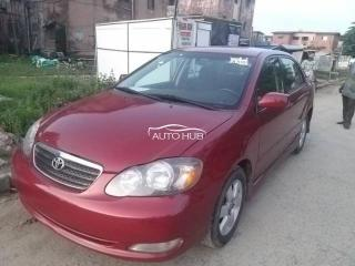2006 Toyota Corolla S Red