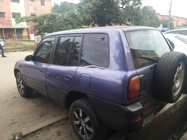 2001 Toyota Rav 4 Gray