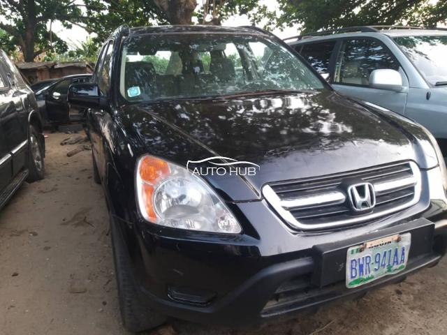 2005 Honda CRV Black