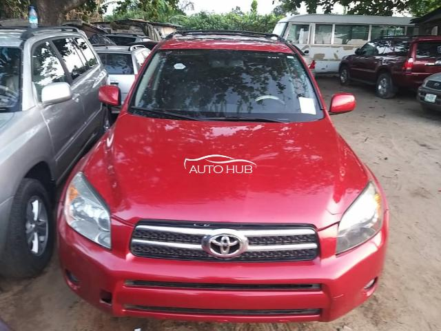 2008 Toyota Rav 4 Red