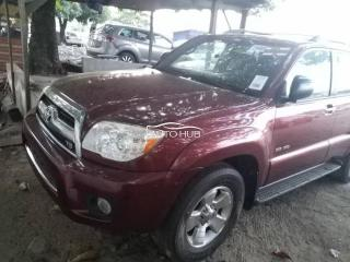 2008 Toyota 4 Runner Red
