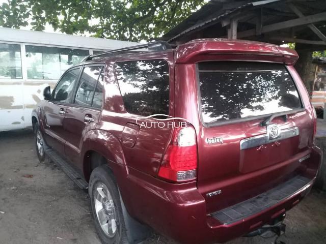 2008 Toyota 4 Runner Red