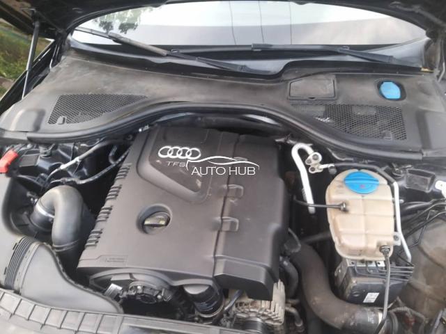 2015 Audi A6 Black