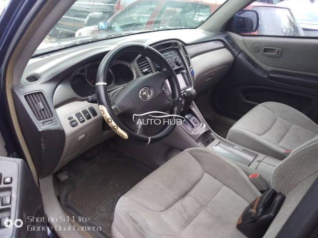 2004 Toyota Highlander Blue