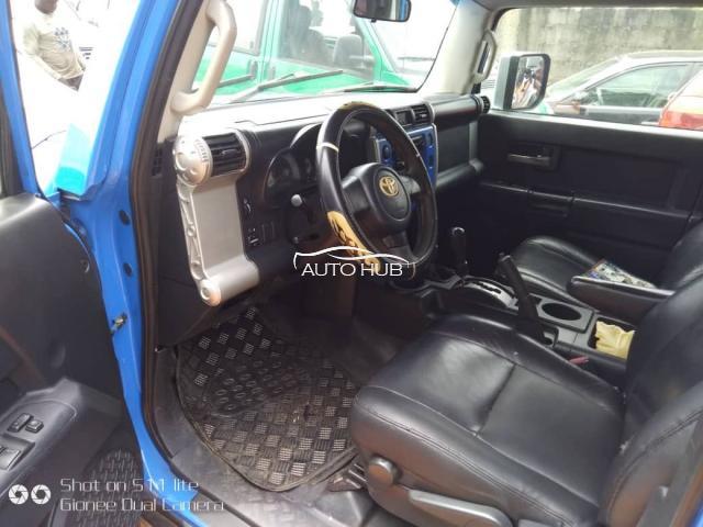 2007 Toyota FJ Cruiser Blue