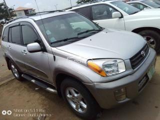 2003 Toyota Rav4 Silver