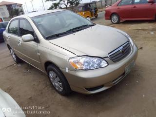 2005 Toyota Corolla Gold