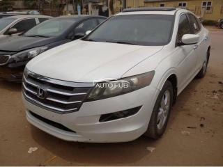 2010 Honda Crosstour White