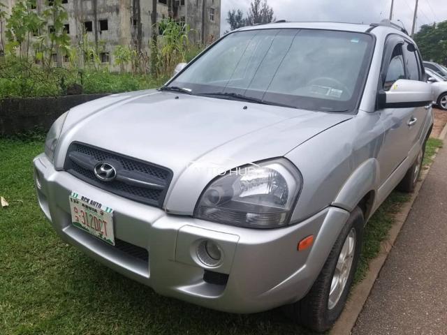 2006 Hyundai Tucson Silver