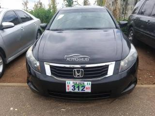 2008 Honda Accord Black
