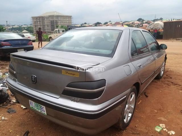 2004 Peugeot 406 Silver