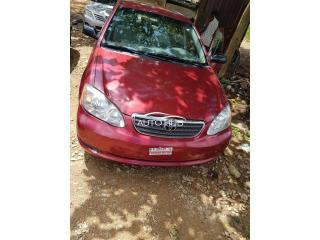 2007 Toyota Corolla Red