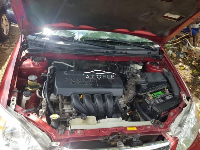 2007 Toyota Corolla Red