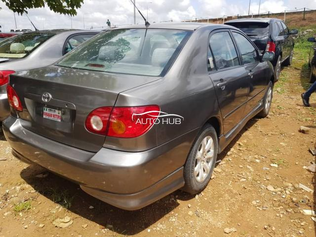 2004 Toyota Corolla Grey