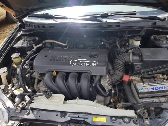 2006 Toyota Corolla Black