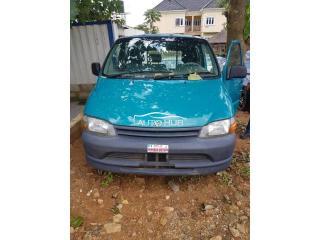 2004 Toyota Hiace Green