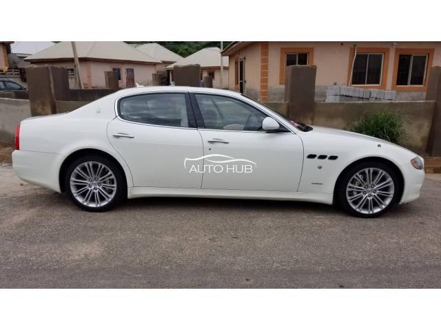 2013 Masserati Quatroporte White